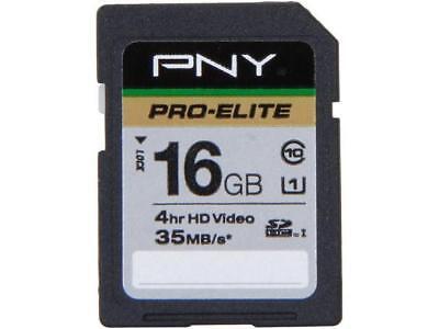 Digital High Capacity Sdhc Flash (PNY Pro-Elite 16GB Secure Digital High-Capacity (SDHC) Flash Card Model P-SDH16U )