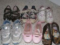 Girls shoes, Size 12 and 12.5