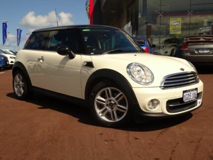 2013 Mini Hatch R56 LCI Cooper Steptronic Baker Street White 6 Speed Sports Automatic Hatchback Osborne Park Stirling Area Preview