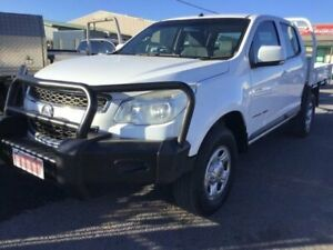 2014 Holden Colorado RG MY14 LX (4x4) White 6 Speed Automatic Crew Cab Chassis Delacombe Ballarat City Preview