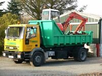 Digger with operator and tipper hire - Commercial and Domestic works undertaken