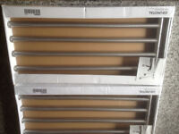 2 x IKEA Grundtal 4 bar stainless steel towel rails, BNIP