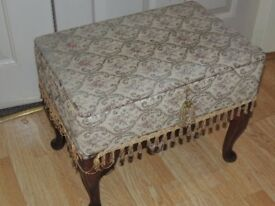 Vintage sewing box.
