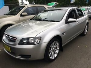 2007 Holden Commodore VE Lumina Silver 4 Speed Automatic Sedan Campbelltown Campbelltown Area Preview