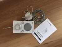AM/FM Radio White Tivoli IPal (Portable Audio Laboratory) Authentic