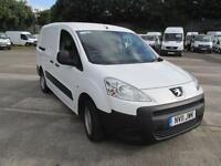 Peugeot Partner L2 716 S 1.6 Hdi 90 Crew Van DIESEL MANUAL WHITE (2011)