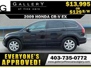 2009 Honda CR-V EX 4WD $129 bi-weekly APPLY NOW DRIVE NOW