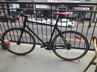 Fixie black & red URGENT