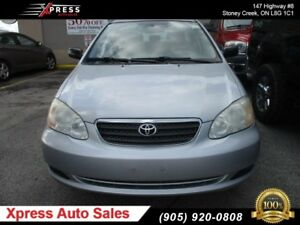 2005 Toyota Corolla CE !!! No Accidents !!!