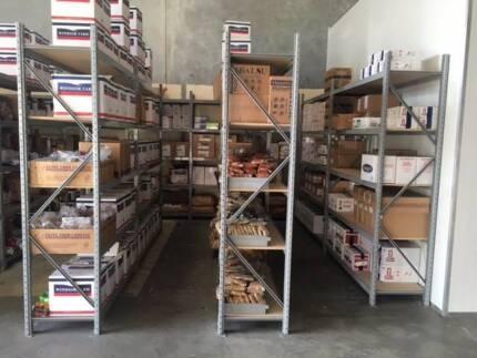 Storage Shelving 2500x2000x600mm NEW