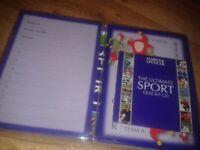New/unused M&S sports CD quiz