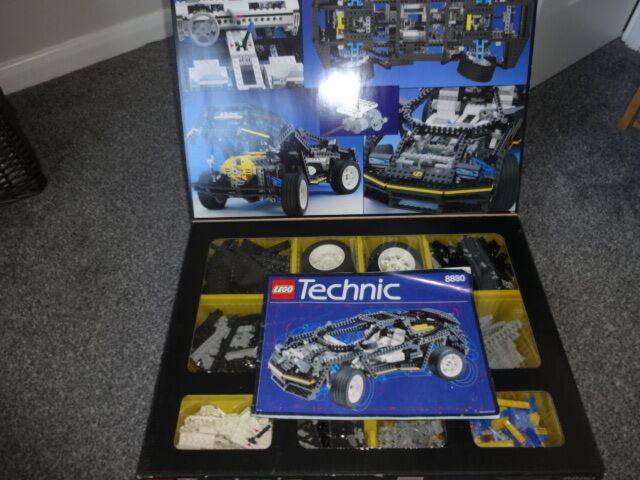 Lego 8880 Technic Super Car Boxed Instructions In Long Eaton