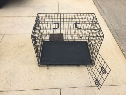 Dog crate with cover