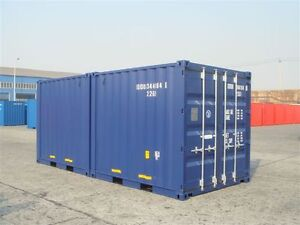 New and Used Marine Storage Containers Delivered