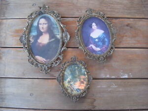 Fancy Oval Picture Frames