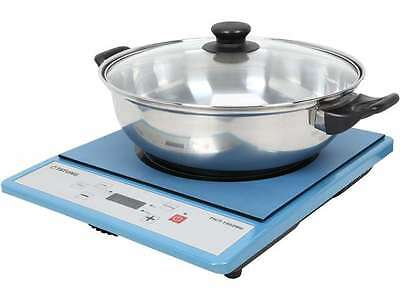 TATUNG TICT-1502MU Portable Induction Cooktop with Stainless Steel Pot (Latest V