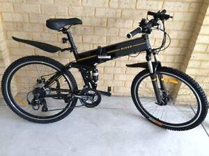 ELECTRIC BIKES MOUNTAIN BIKE FOLDABLE North Perth Vincent Area Preview