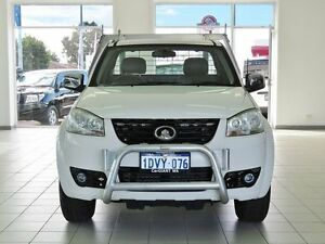 2011 Great Wall V240 K2 (4x4) White 5 Speed Manual Cab Chassis Morley Bayswater Area Preview