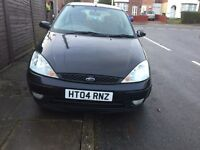 FORD FOCUS 2004 EDGE 1.6L MANUAL PETROL 2 DOOR SPORTS,MOTED AND TAXED , PERFECT CAR , PERFECT RUNNER