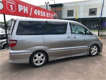 2004 Toyota Alphard Silver Edgeworth Lake Macquarie Area Preview