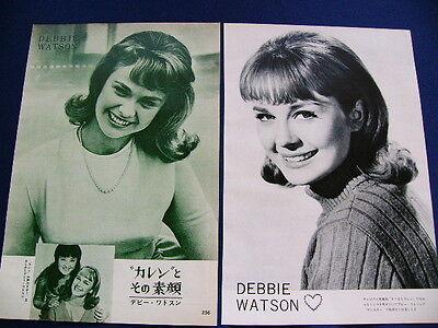 1960s Debblie Watson Japan VINTAGE 9 Clippings KAREN