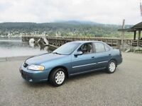 2001 Nissan Sentra GXE Tricities/Pitt/Maple Greater Vancouver Area Preview