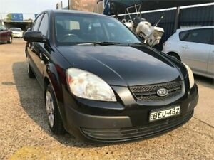 2008 Kia Rio JB EX Black 5 Speed Manual Hatchback