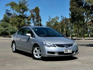2008 Honda Civic 8th Gen MY09 SI Silver 5 Speed Automatic Hatchback