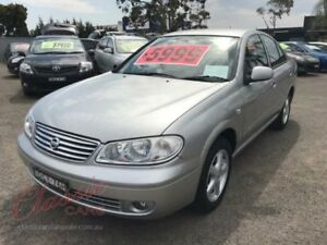 2005 Nissan Pulsar N16 MY04 ST-L Silver 4 Speed Automatic Sedan Lansvale Liverpool Area Preview