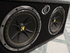 KICKER SUBWOOFERS, EXILE AMP, CUSTOM FIRE EXTINGUISHER