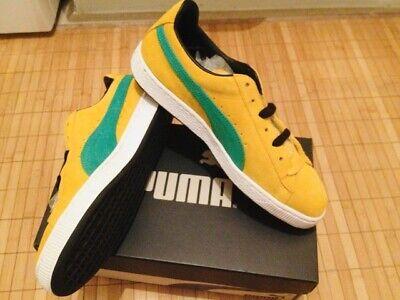 BNIB Ltd. Edition Puma Suede Jam UK8 (EU42) Yellow/ Green