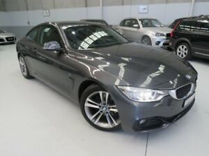 2013 BMW 420d F32 Sport Line Mineral Grey 8 Speed Automatic Coupe Seaford Frankston Area Preview