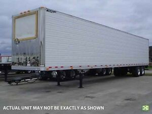 2017 Great Dane Tandem Reefer Van, New Reefer Van
