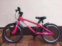 Pink Frog 48 Alluminium Girls Bike - Age 4-6 - Excellent Condition