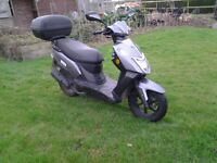 moped scooter for sale 1 owner from new, excellent condition.