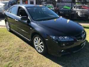 2007 Mazda 6 GG1032 Luxury Sports Black Sports Automatic Hatchback Yagoona Bankstown Area Preview