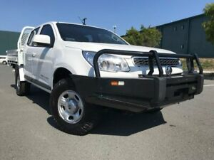 2013 Holden Colorado RG MY13 LX Crew Cab White 6 Speed Sports Automatic Cab Chassis Arundel Gold Coast City Preview