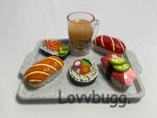 Larger Sushi w Boba Tea for American Girl BJD Doll Food Accessory LOVVBUGG! 🐞
