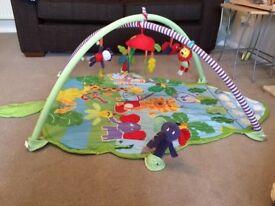 Mamas and Papas jungle gym activity mat