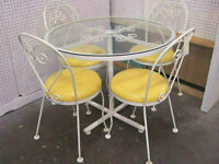 Retro 5 pc. HAUSER Bistro set
