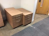 Cheap!!! High quality pedestals 3 drawer cabinet with keys. Delivery.