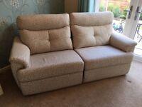 G Plan Electric Recliner Sofa