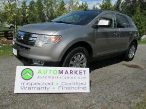2008 Ford Edge Limited AWD INSP, BCAA MBSHP, WARR, FINANCE