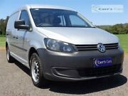 2014 Volkswagen Caddy 2KN MY14 TDI320 Silver Sports Automatic Dual Clutch Van Erina Gosford Area Preview