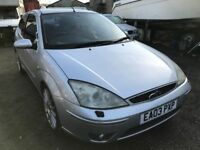 2003 Ford Focus ST 170, starts and drives, possible race track car, trade sale, hence price, no MOT,