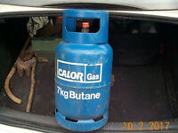 7 kg butane bottle, approx half full of fuel, £30. For cabinet heater. Collect from Pontardawe SA8..