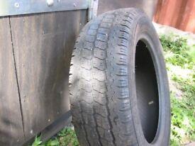 Vauxhall Vivaro tyre 195/65/16 hardly used