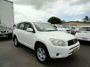 2006 Toyota RAV4 ACA33R CV White 4 Speed Automatic Wagon West Ballina Ballina Area Preview