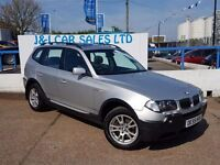 BMW X3 2.0 D SE 5d 148 BHP A GREAT EXAMPLE INSIDE AND OUT (silver) 2005