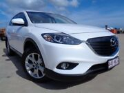 2015 Mazda CX-9 TB10A5 Classic Activematic White 6 Speed Sports Automatic Wagon Garbutt Townsville City Preview